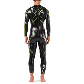 2XU Propel Pro Wetsuit Men black/neon green gecko